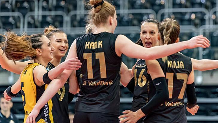 VakıfBank, Şampiyonlar Ligi'nde çeyrek finale yükseldi