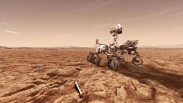 NASA'nın Uzay Aracı Perseverance Mars'a İndi…