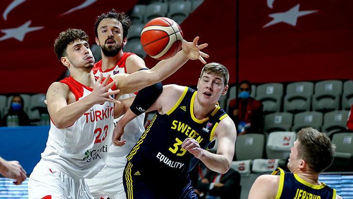 Türkiye - İsveç: 88-80