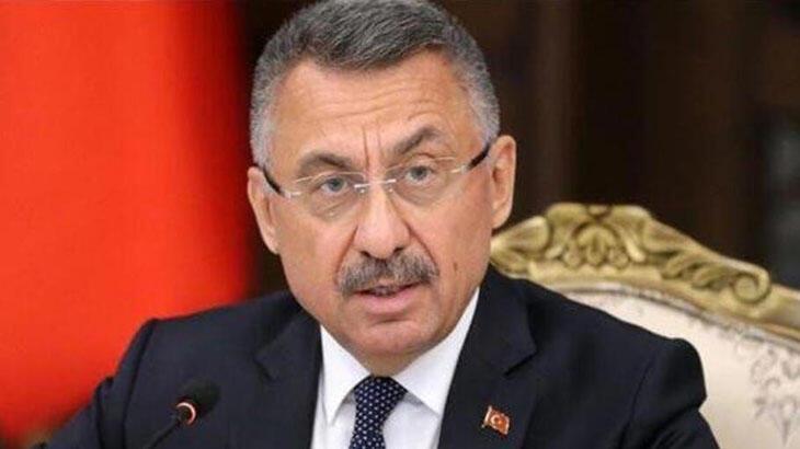Cumhurbaşkanı Yardımcısı Oktay, Türk Konseyi Genel Sekreteri Amreyev ile görüştü
