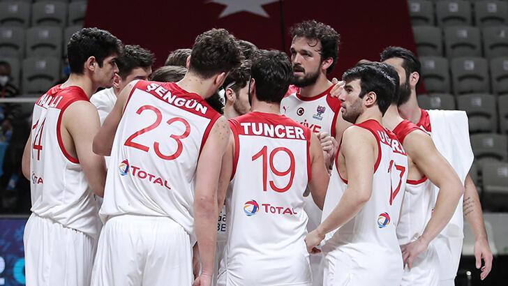 Son dakika -  A Milli Basketbol Takımı, Avrupa Şampiyonası'na katılma hakkı kazandı!