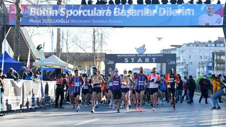2021 Türkiye Maraton Şampiyonası ve 41. Uluslararası Trabzon Yarı Maratonu koşuldu