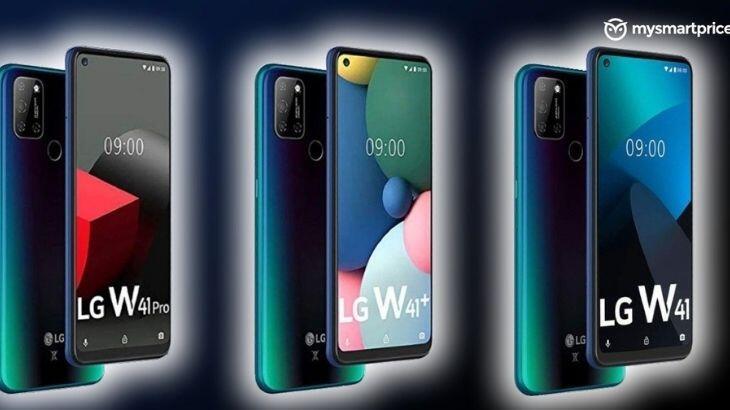 LG W41 yolda: Üç yeni model ile piyasaya çıkacak!