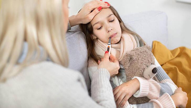 Okula giden çocukların yılda kaç kez hastalanması normal?