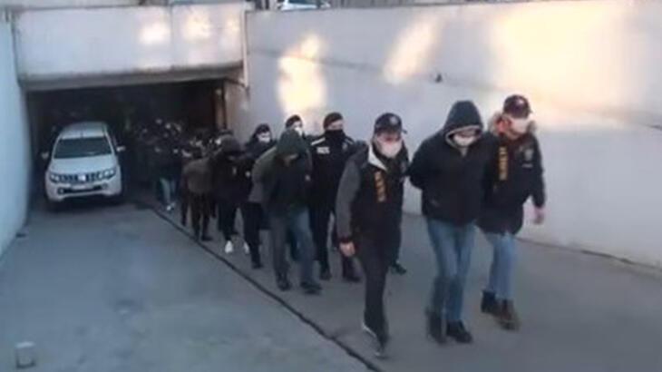 """""""Mobil Bankacılık"""" dolandırıcılığı! 35 şüpheli tutuklandı"""