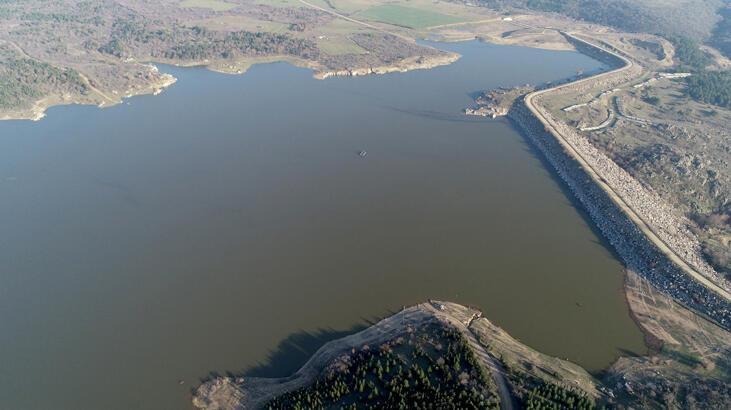 Trakya'daki barajların su seviyesi arttı