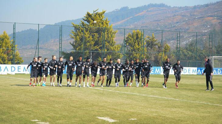 Beşiktaş, Denizlispor maçının hazırlıklarını sürdürdü