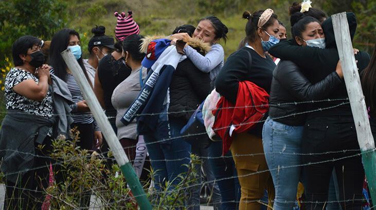 Son dakika... Ekvador'da hapishane isyanı! Çok sayıda ölü var...