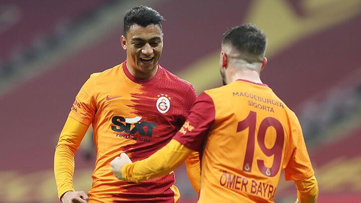 Galatasaray - Erzurum maçına Mostafa Mohamed damgası! Falcao'yu kulübeye hapsetti...