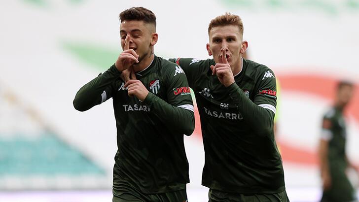 Bursaspor - Akhisarspor: 3-2