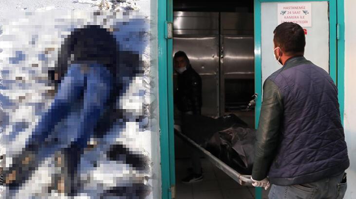 İran sınırında donmuş erkek cesedi bulundu!