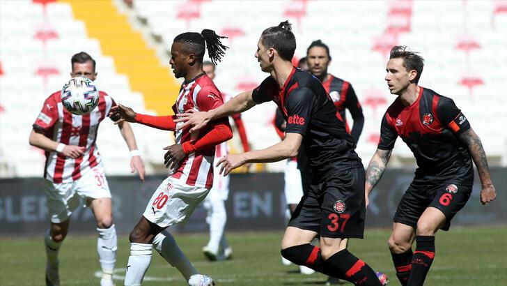Sivasspor-Fatih Karagümrük: 1-0