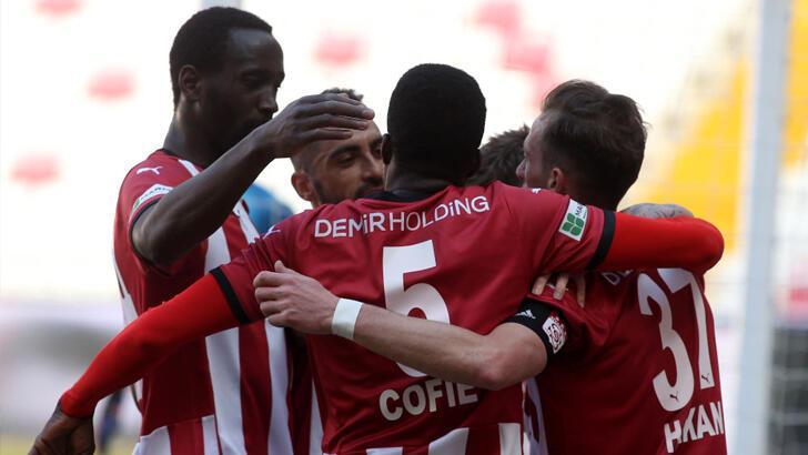 Sivasspor ligde 7 maçtır yenilmiyor