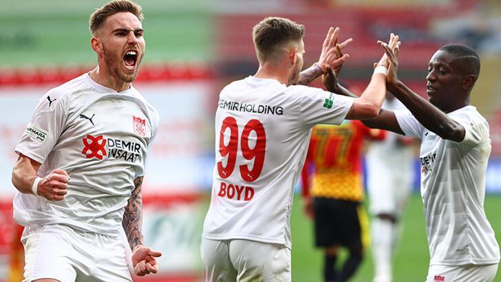 Son dakika - Göztepe - Sivasspor maçına Tyler Boyd damgası!