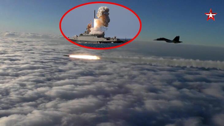 Son dakika: Rus savaş gemileri ateş açtı! Karadeniz'de gerilim tırmanıyor