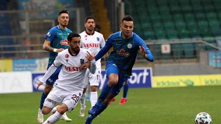 Çaykur Rizespor - Trabzonspor: 0-0