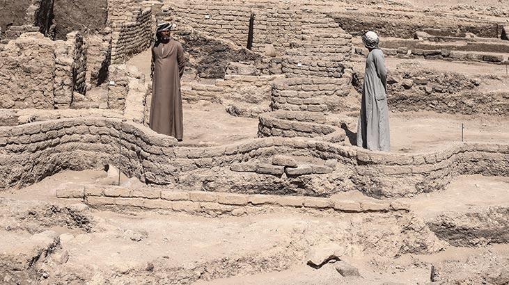 Mısır'da tarihi keşif! 3 bin yıllık...