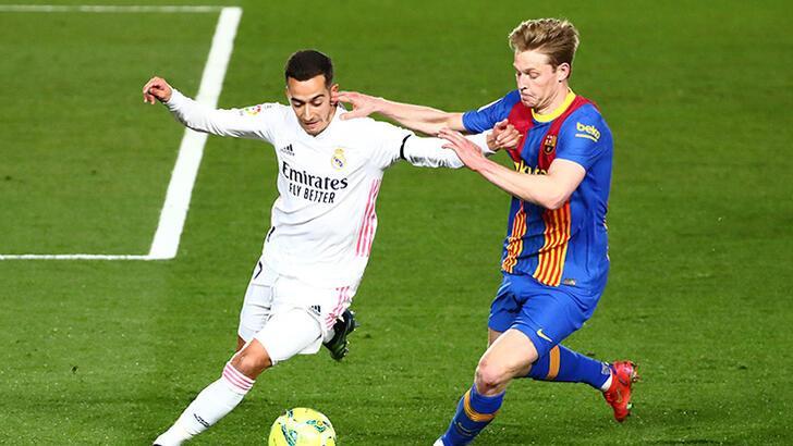 Real Madrid - Barcelona maçından görüntüler!