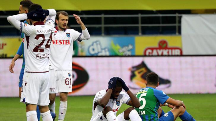 Trabzonspor düşüş yaşıyor