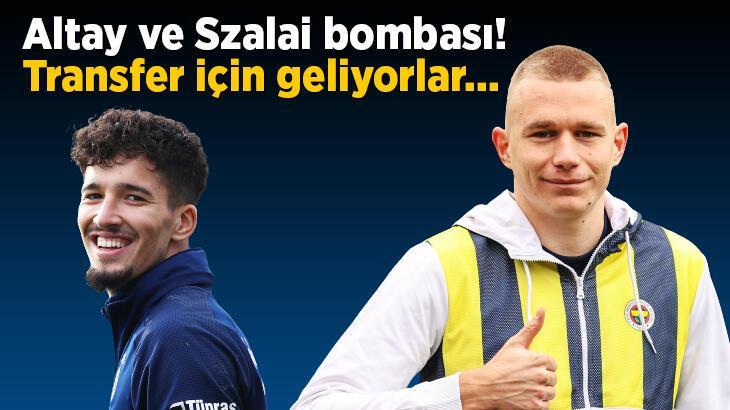 Son dakika Fenerbahçe haberleri: Altay Bayındır ve Attila Szalai bombası! Transfer için geliyorlar...