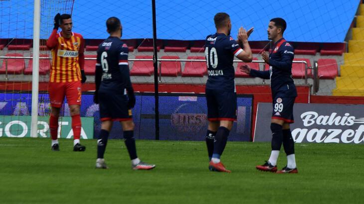 Antalyaspor, Süper Lig'de 25. sezonunda 1002 puana ulaştı