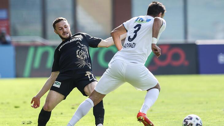Kasımpaşa-Yeni Malatyaspor: 0-0