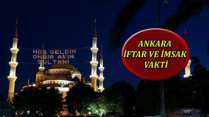 Ankara imsak saati kaç 21 Nisan? Ankara'da iftar - sahur vakti ne zaman? İşte, İmsakiye 2021