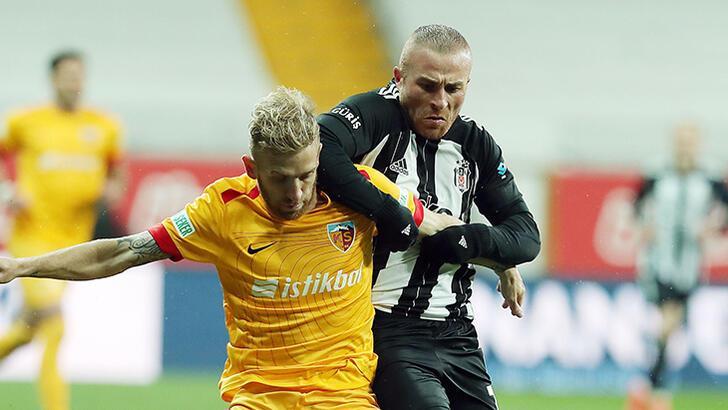 Beşiktaş - Kayserispor: 3-1