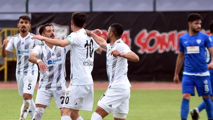 Somaspor adını 2'nci Lig'e yazdırdı