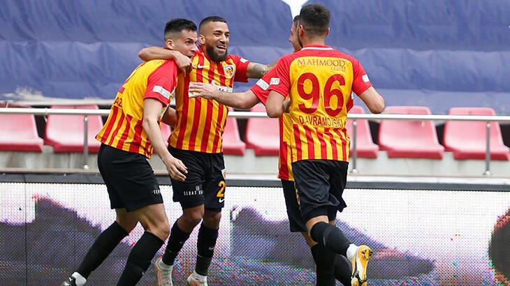 Kayserispor - Denizlispor: 6-3