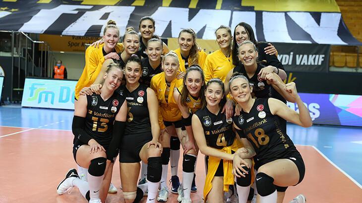 VakıfBank, Şampiyonlar Liginde şampiyonluk rekoru için sahaya çıkacak