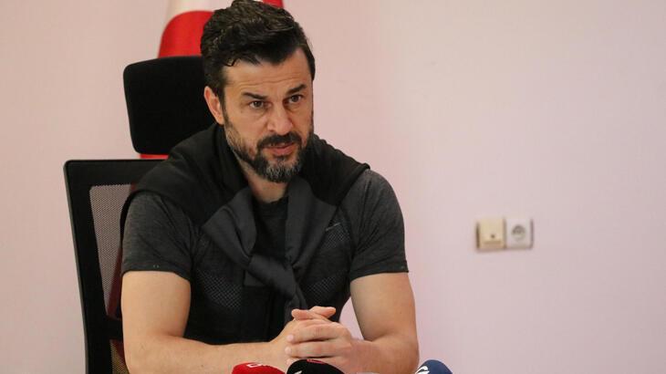 Denizlispor Teknik Direktörü Tandoğan: Asıl bu sene takımların ligde tutulması gerekiyor