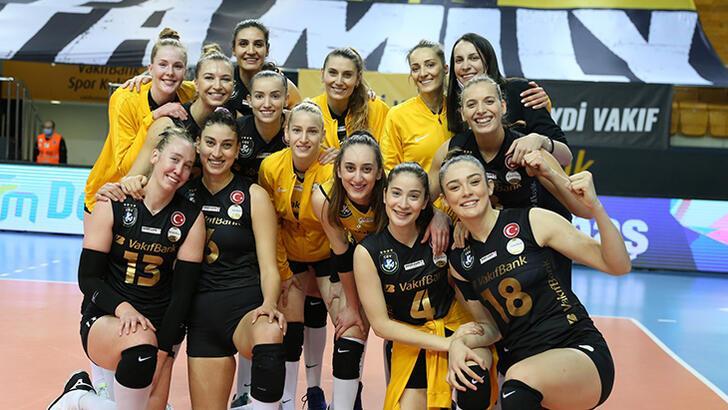Son dakika haberi - CEV Şampiyonlar Ligi'nde VakıfBank ikinci oldu!
