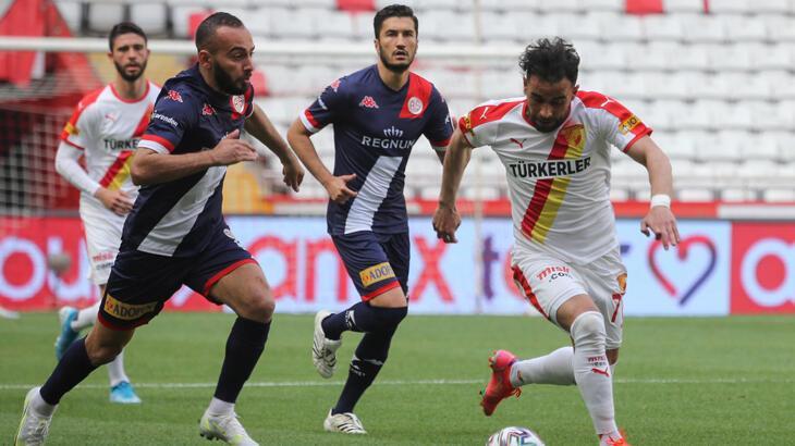 Antalyaspor-Göztepe: 2-3