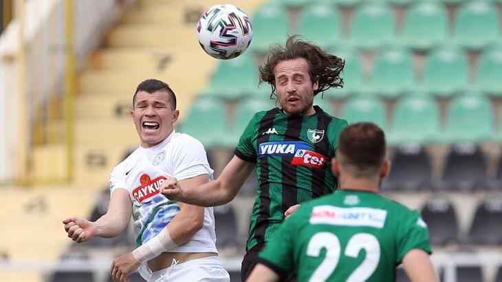 Son dakika haberi - Süper Lig'den düşen ilk takım Yukatel Denizlispor: 0-1