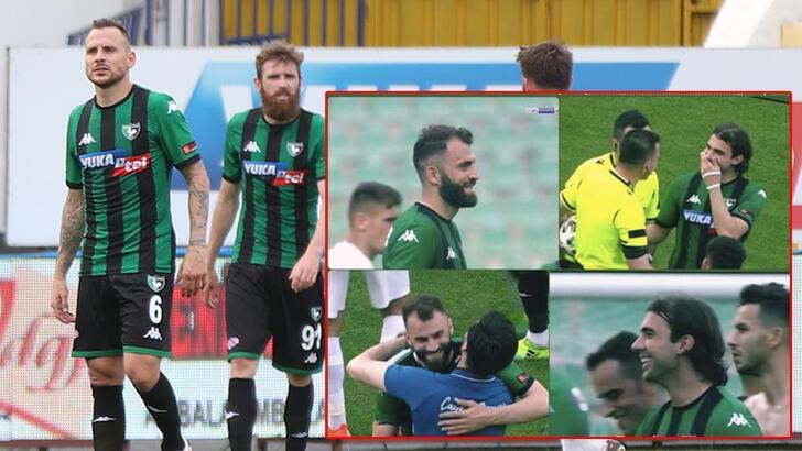 Son dakika - Denizlispor küme düştü, futbolcuların görüntüsü olay oldu! Büyük tepki
