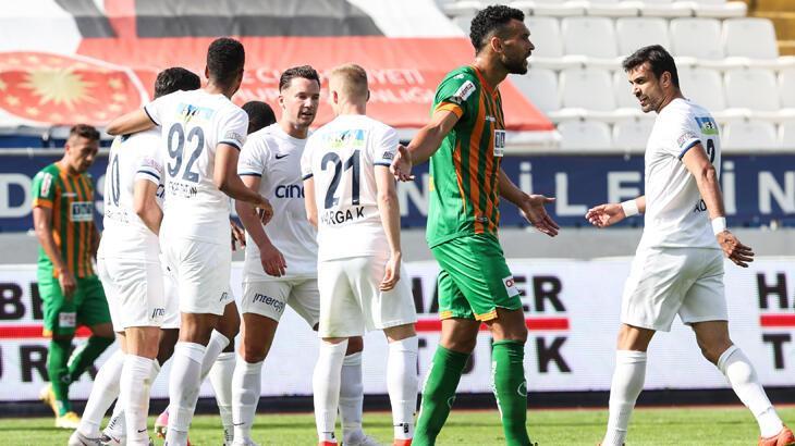 Kasımpaşa - Aytemiz Alanyaspor: 3-0