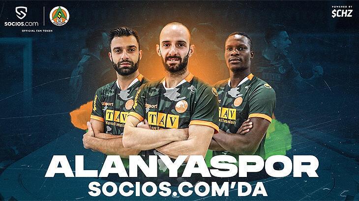 Aytemiz Alanyaspor'dan 'fan token' anlaşması