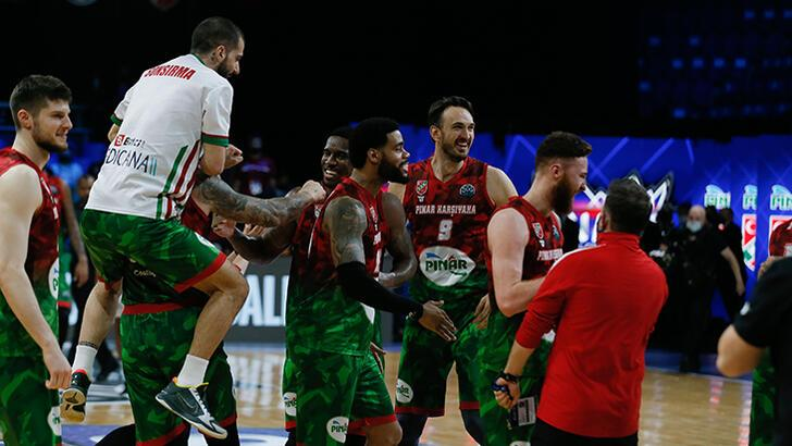 Son dakika - Pınar Karşıyaka, FIBA Şampiyonlar Ligi'nde finalde!