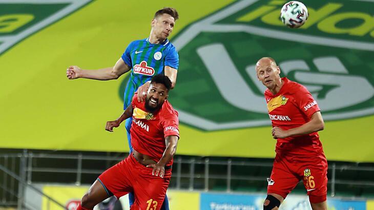 Çaykur Rizespor: 0 - Helenex Yeni Malatyaspor: 4