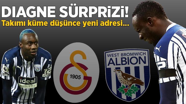 Son dakika transfer haberleri: Mbaye Diagne sürprizi! Galatasaray gönderdi ama West Bromwich Albion küme düşünce...