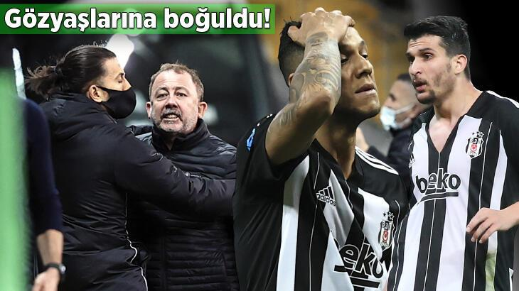 SON DAKİKA... Beşiktaş'ta yıkım gecesi! Gözyaşlarına boğuldu, kavga...