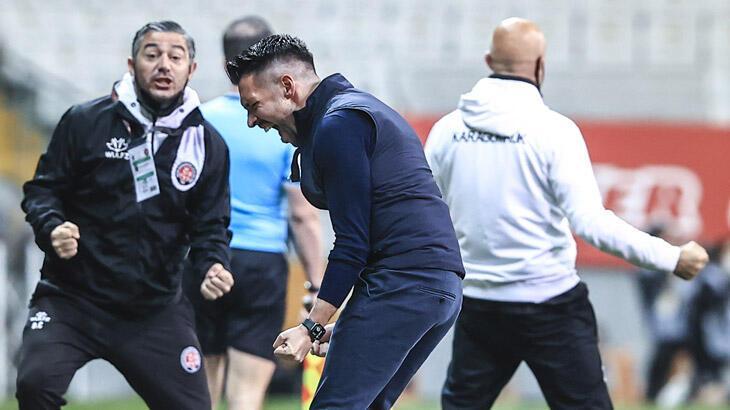 """Fatih Karagümrük Teknik Sorumlusu David Sassarini: """"Özel bir golle galibiyete uzandık. Güzel bir galibiyet oldu"""""""