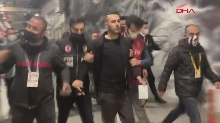 Son dakika - Beşiktaş maçından sonra gözaltına alınan menajer serbest bırakıldı