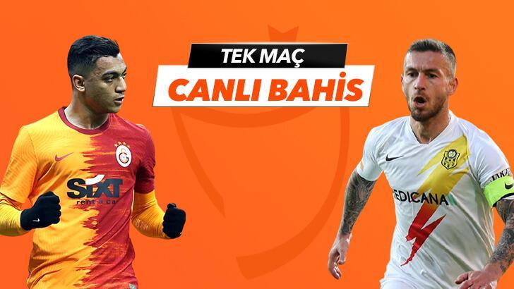 Galatasaray - Yeni Malatyaspor maçında canlı bahis heyecanı Misli.com'da!