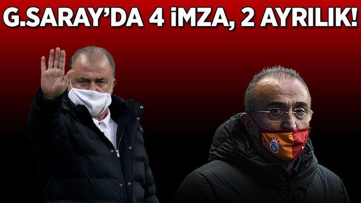 Son Dakika: Galatasaray'da 4 imza birden! Takımdan gönderilecek isimler de belli oldu...