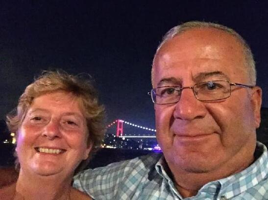 Dünya Azeri Türkleri Genel Koordinatörü Başar Kömür'ün eşi son yolculuğuna  uğurlandı - Hatay Erzin Haberleri