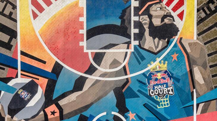 Basketbol sahaları Red Bull Half Court ile renkleniyor