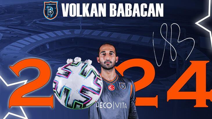 Son dakika haberi - Başakşehir, Volkan Babacan ile 3 yıllık sözleşme imzaladı
