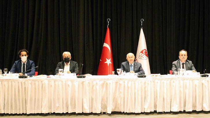 3. Lig kulüplerinden Başkan Nihat Özdemir'e ziyaret